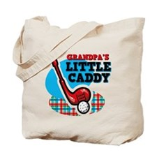 Grandpa's Little Caddy Tote Bag