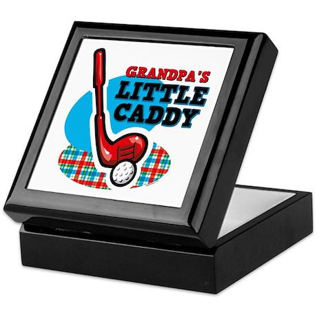 Grandpa's Little Caddy Keepsake Box