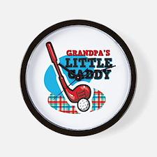 Grandpa's Little Caddy Wall Clock