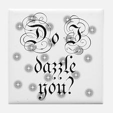 Twilight Do I Dazzle You Tile Coaster