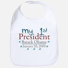 My 1st President (Obama Inauguration) Bib