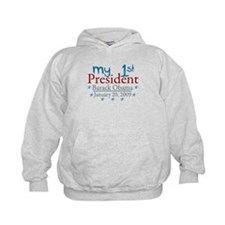 My 1st President (Obama Inauguration) Hoodie