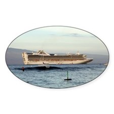 Cruise Ship Oval Decal