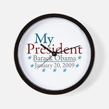 My President (Obama Inauguration) Wall Clock