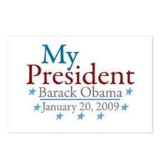 My President (Obama Inauguration) Postcards (Packa