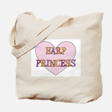 Musicolicious Harp Gift Tote Bag