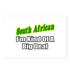 """South African...Big Deal"" Postcards (Package of 8"
