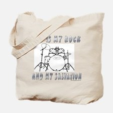 God is My Rock Tote Bag