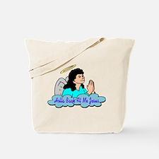 Holla Back At Me Jesus Tote Bag