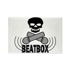 Beatbox Rectangle Magnet