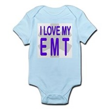 I love my EMT Infant Creeper