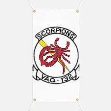 VAQ 132 Scorpions Banner