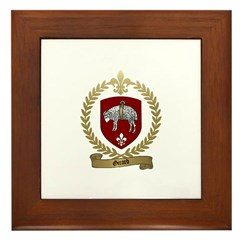 GIRARD Family Crest Framed Tile