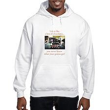 Life is like a box of chocola Hoodie Sweatshirt