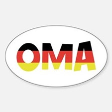 Oma Oval Stickers