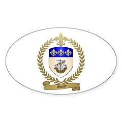 GIROIR Family Crest Oval Decal