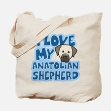 I Love my Anatolian Shepherd Tote Bag