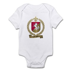 GOUGEON Family Crest Infant Creeper