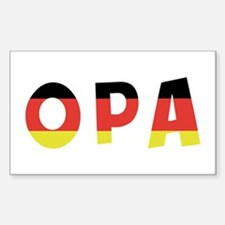 Opa Rectangle Decal
