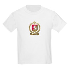 GOUGEON Family Crest Kids T-Shirt