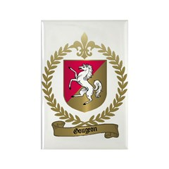 GOUGEON Family Crest Rectangle Magnet (100 pack)