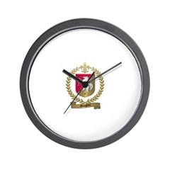 GOUGEON Family Crest Wall Clock
