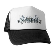 Vintage Fly Fishing Trucker Hat