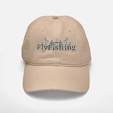 Vintage Fly Fishing Baseball Baseball Cap