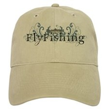Vintage Fly Fishing Baseball Cap