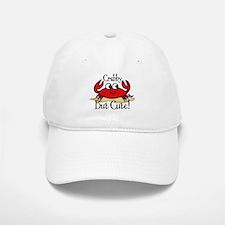Cute Crabby Baseball Baseball Cap