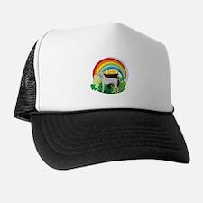 Weimaraner St Patricks Day Trucker Hat