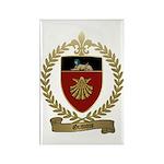 GRAVOIS Family Crest Rectangle Magnet