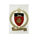 GRAVOIS Family Crest Rectangle Magnet (100 pack)