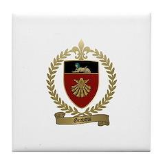 GRAVOIS Family Crest Tile Coaster