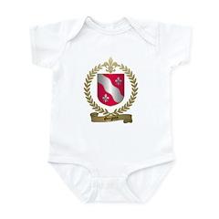 GREGOIRE Family Crest Infant Creeper