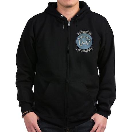 VAQ 139 Cougars Zip Hoodie (dark)