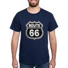 Rte 66 - blk T-Shirt