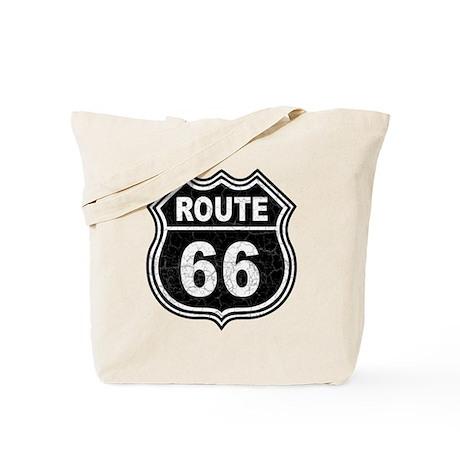Rte 66 - blk Tote Bag