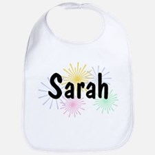 Personalized Sarah Bib