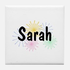 Personalized Sarah Tile Coaster