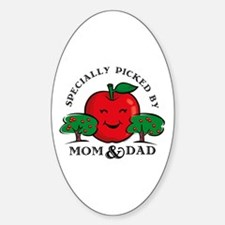 Specially Picked Oval Decal