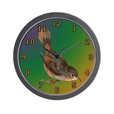 nightingale two Wall Clock