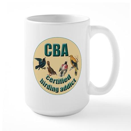 Birding Addict Large Mug