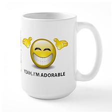 Yeah, I'm Adorable Coffee Mug