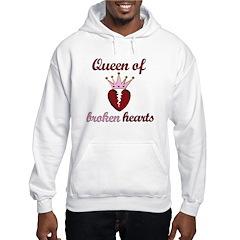 Queen Of Broken Hearts Hoodie