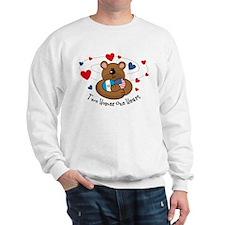 2 Homes 1 Heart Guatemala Sweatshirt