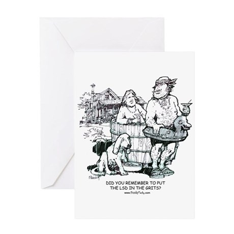 Hipbilly Greeting Card