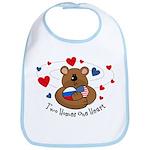 2 Homes1 Heart Russia Bib