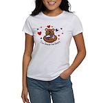 2 Homes1 Heart Russia Women's T-Shirt