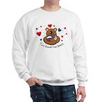 2 Homes1 Heart Russia Sweatshirt